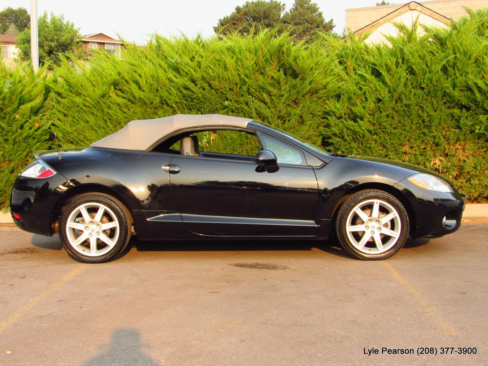 Pre-Owned 2007 Mitsubishi Eclipse 2dr Spyder Manual GT