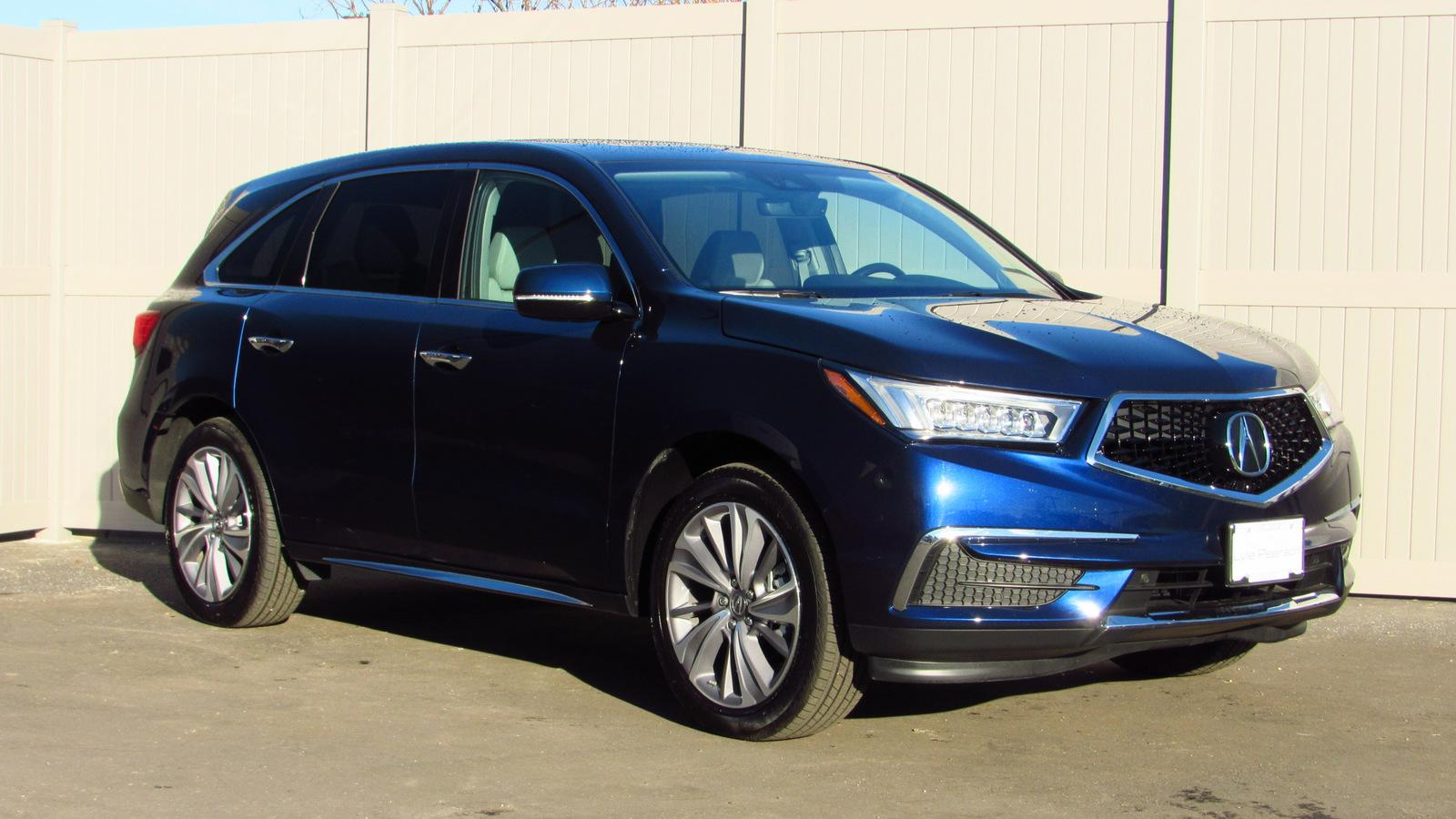 Pre-Owned 2018 Acura MDX SH-AWD w/Technology Pkg