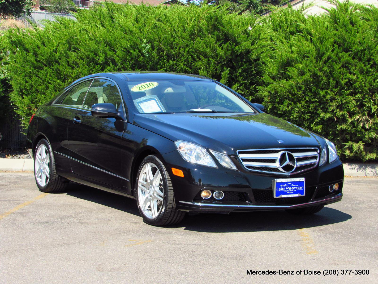 Pre-Owned 2010 Mercedes-Benz E-Class 2dr Cpe E 350 RWD