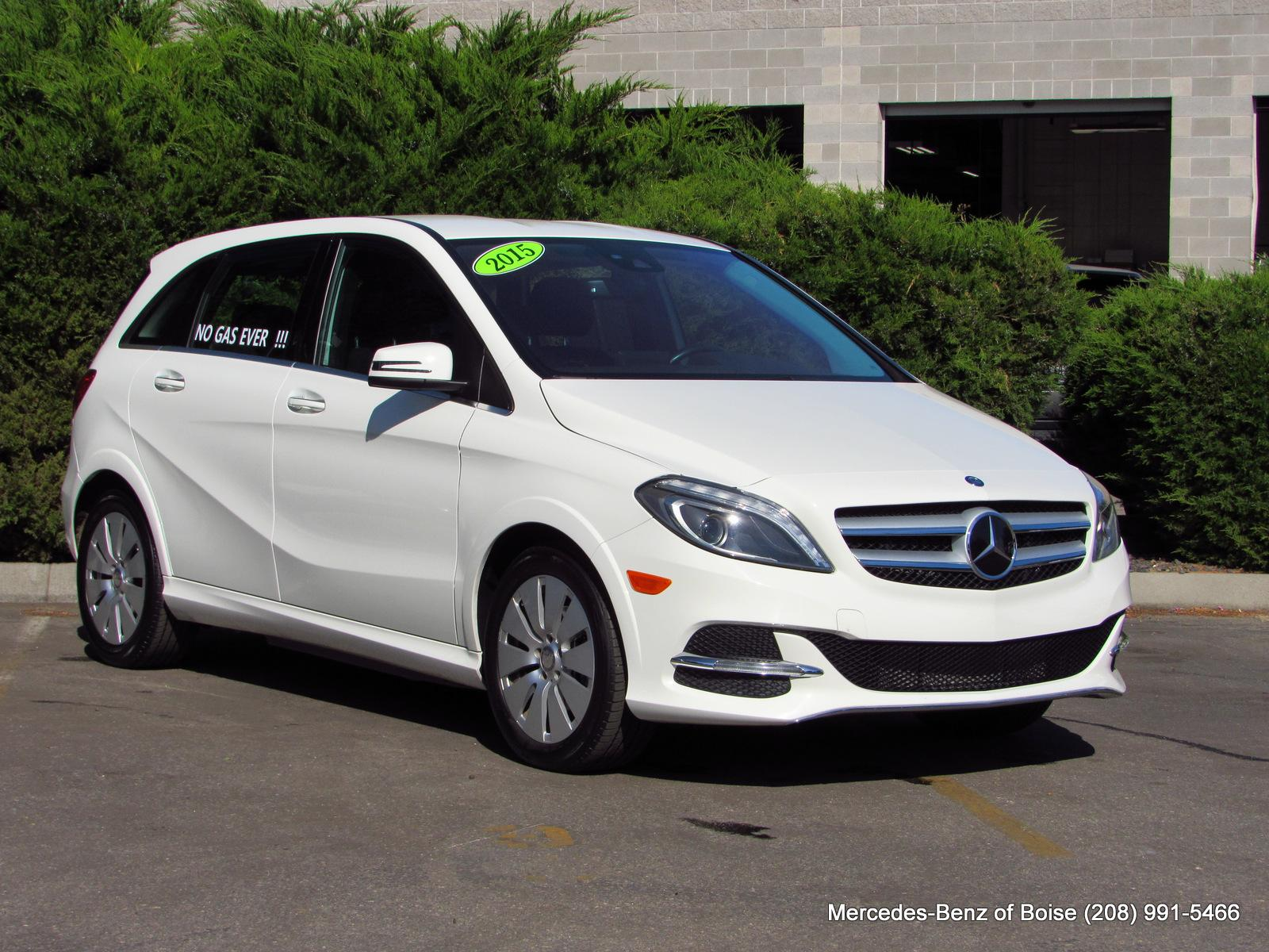 Pre-Owned 2015 Mercedes-Benz B-Class 4dr HB Electric Drive