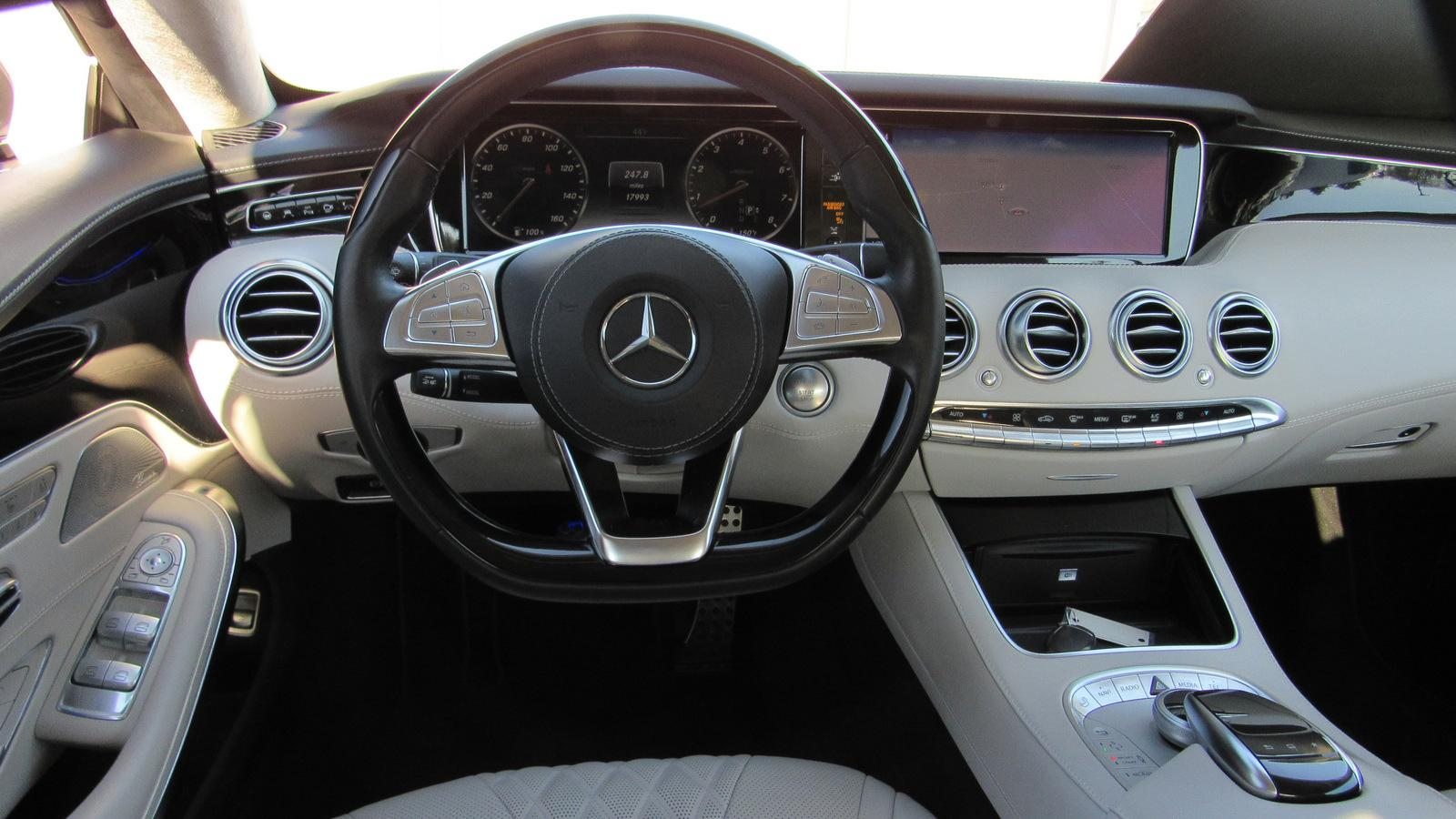 Pre-Owned 2015 Mercedes-Benz S-Class 2dr Cpe S 550 4MATIC®