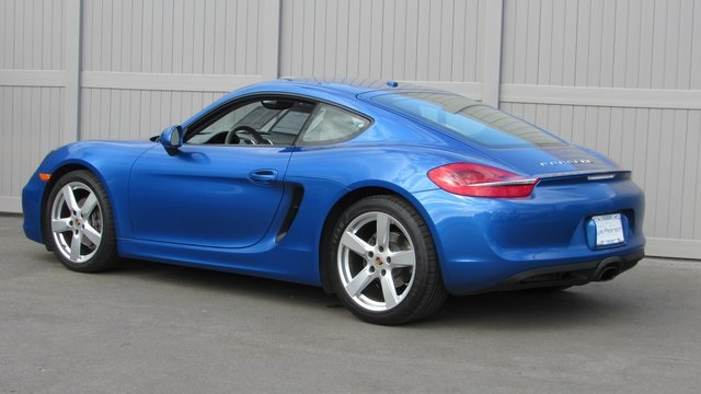 Certified Pre-Owned 2014 Porsche Cayman Base