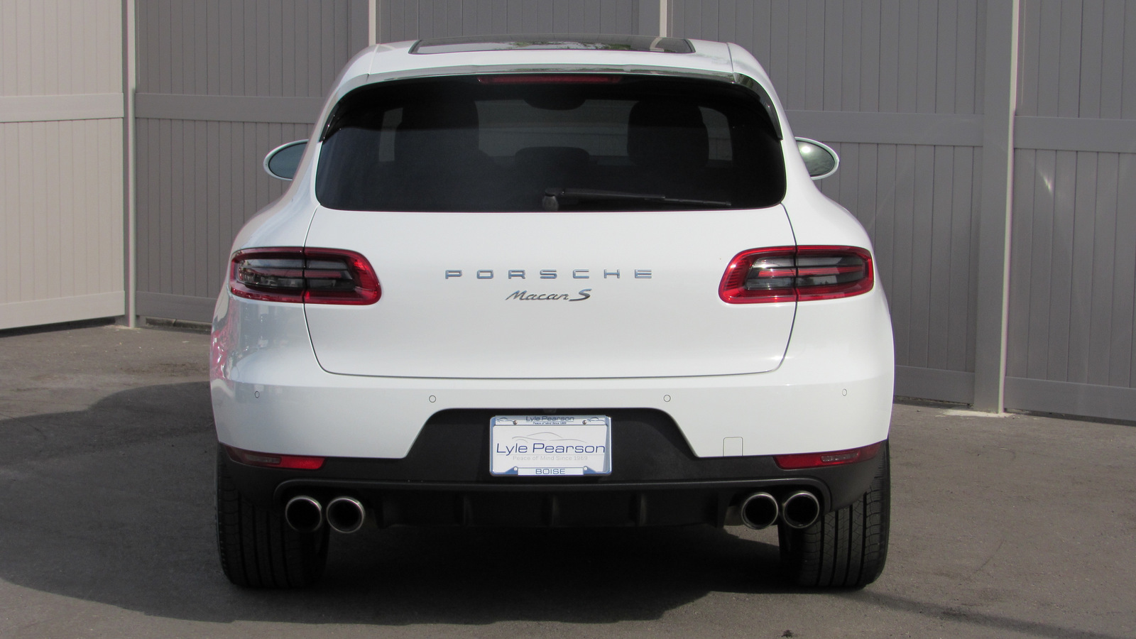Certified Pre-Owned 2015 Porsche Macan AWD 4dr S