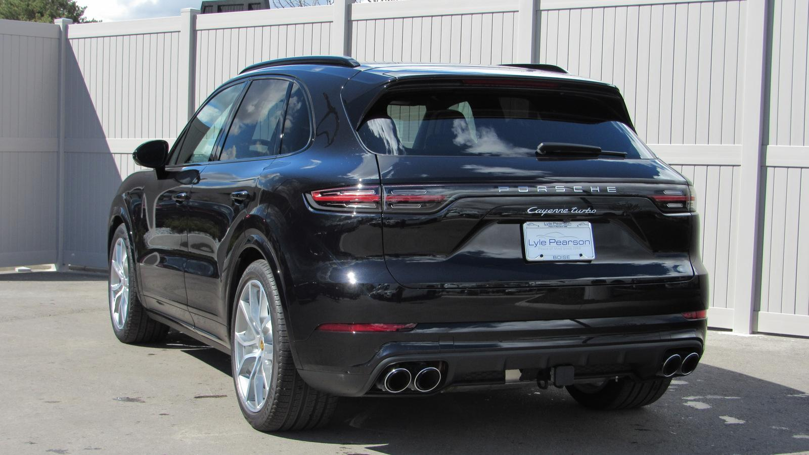 New 2019 Porsche Cayenne Turbo AWD