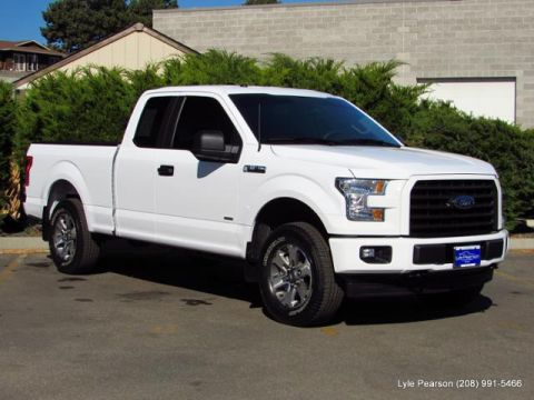 Pre-Owned 2017 Ford F-150 XL 4WD SuperCab 6.5' Box