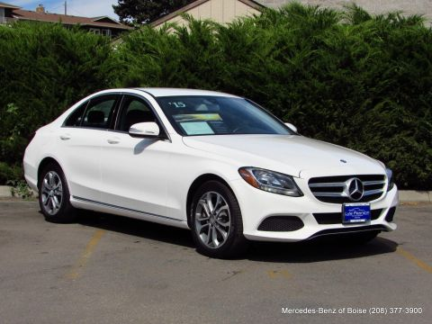 Pre-Owned 2015 Mercedes-Benz C-Class 4dr Sdn C 300 4MATIC