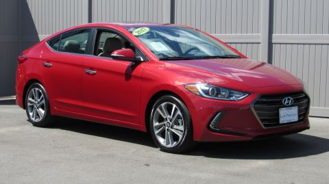 Pre-Owned 2017 Hyundai Elantra 4dr Sdn Auto Limited PZEV