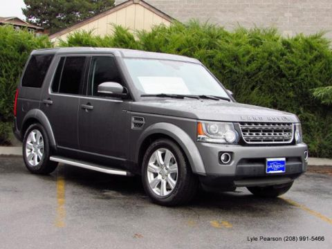 Pre-Owned 2015 Land Rover LR4 4WD 4dr HSE
