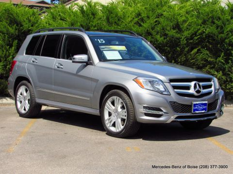 Pre-Owned 2015 Mercedes-Benz GLK 4MATIC 4dr GLK 250 BlueTEC