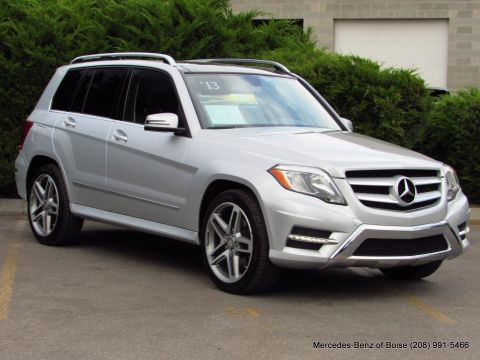 Pre-Owned 2013 Mercedes-Benz GLK 4MATIC 4dr GLK 350