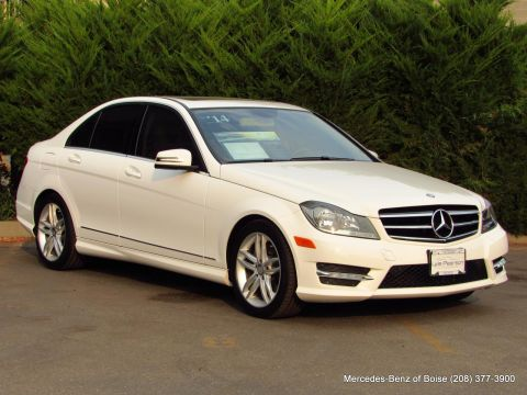 Pre-Owned 2014 Mercedes-Benz C-Class 4dr Sdn C 300 Sport 4MATIC