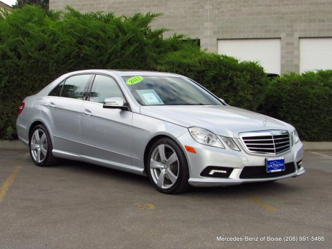 Pre-Owned 2011 Mercedes-Benz E-Class 4dr Sdn E 350 Sport RWD