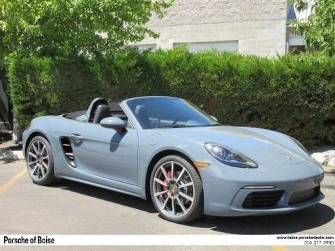 New 2017 Porsche 718 Boxster S Roadster